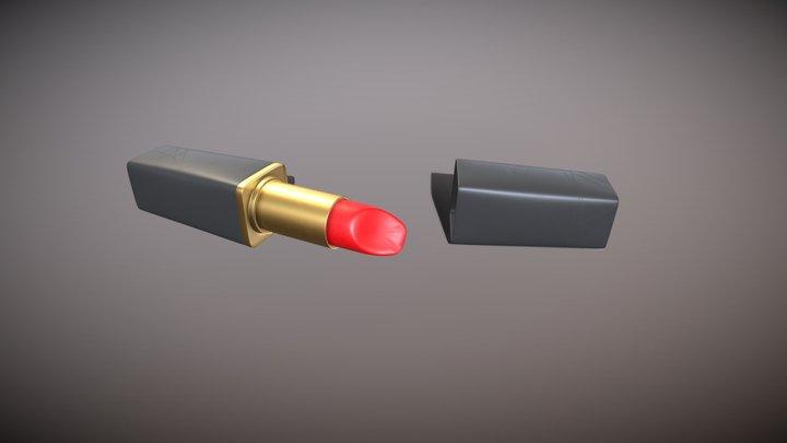 Lipstick 3D Model