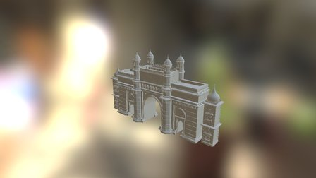 Gate1 3D Model