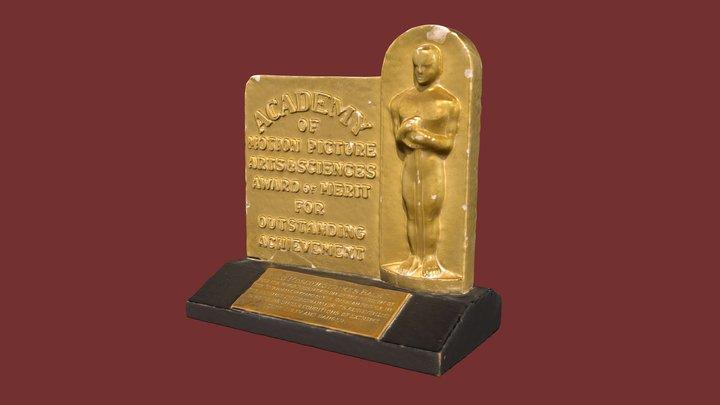 Первый советский «Оскар» 1942г. 3D Model