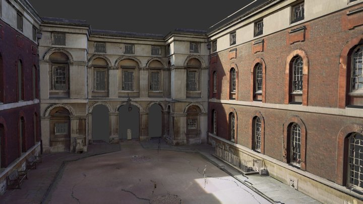 Greenwich from Point Cloud - Pointfuse V1 3D Model