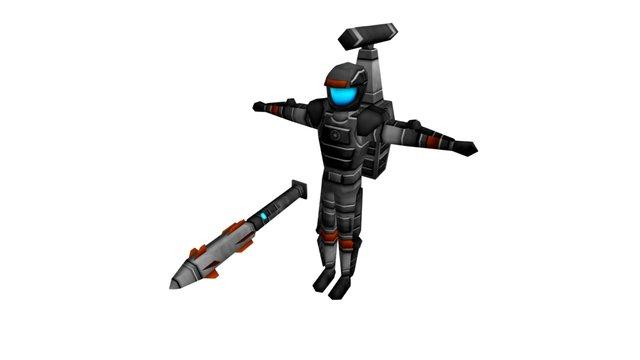 WEA Lancer 3D Model