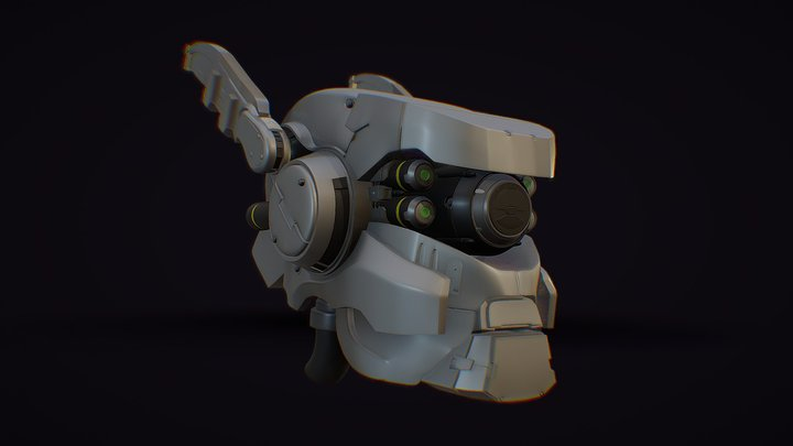 Briareos (Appleseed Alpha) 3D Model
