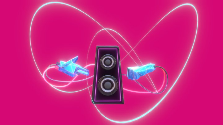 """Soundwave"" - RTJ4D Entry #2 3D Model"