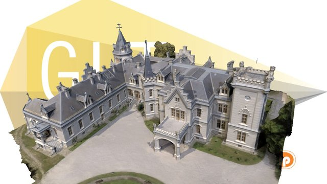 Nadasdy castle - Hungary 3D Model