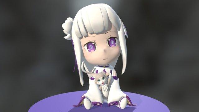 Emilia 3D Model