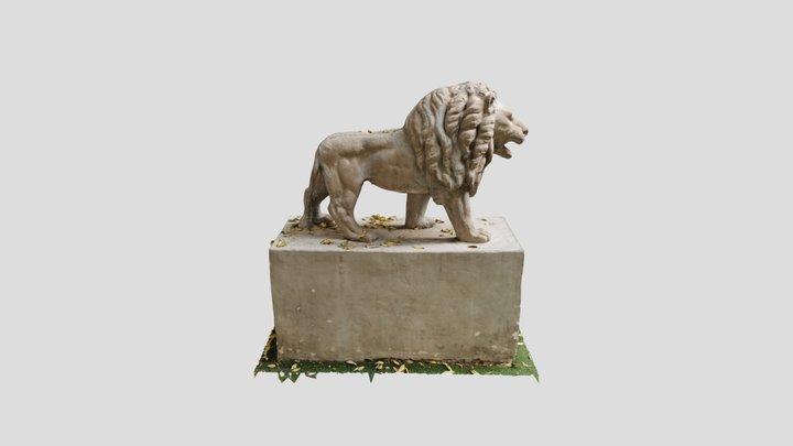 The Lion 3D Model