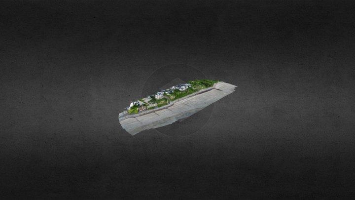 Analyse Trait de côte de Villerville 3D Model