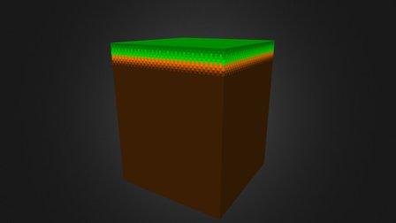 [Project Catnip] Modular Voxel Ground Tile 3D Model