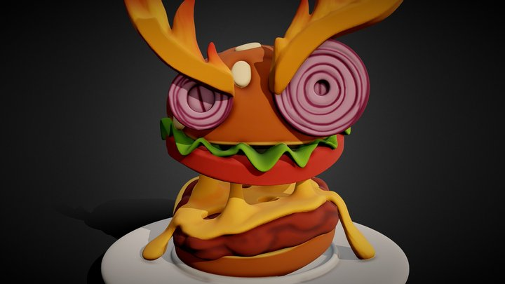 MeatForge - Angery Borglor. [Commission] 3D Model
