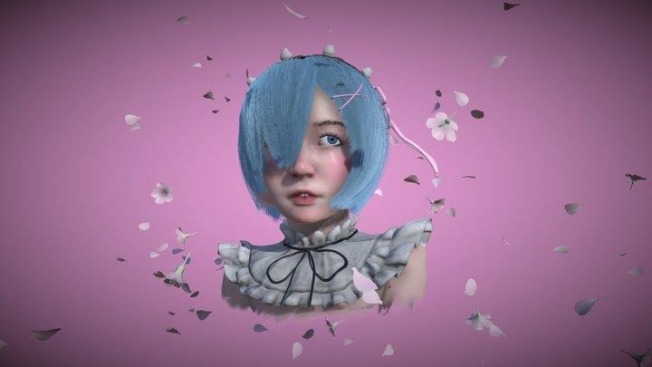 Rem / Re:Zero 3D Model