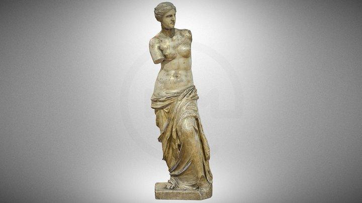 """""""Aphrodite of Milos"""", a plaster cast 3D Model"""