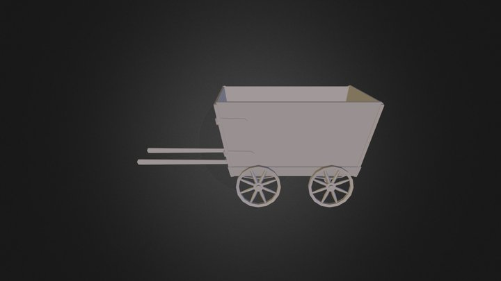Cranky's Cart(Cranky Do the Donkey) 3D Model