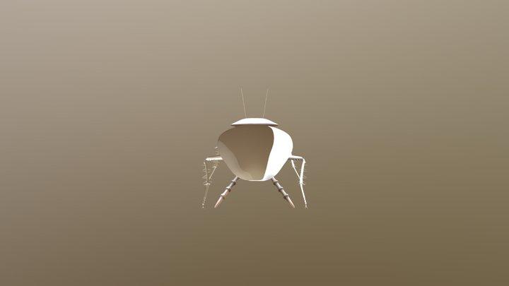 Roach 3D Model
