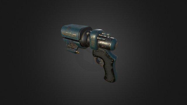 Game pistol 3D Model