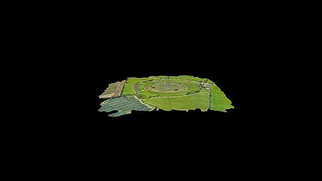 Hillfort Rath, County Wicklow 3D Model