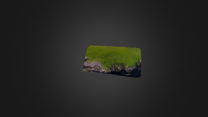 Remains of the Broch of Houbie 3D Model