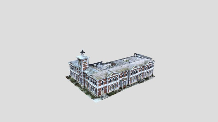 Old Post office Christchurch 3D Model