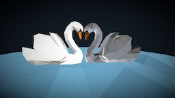 The Swanlake 3D Model