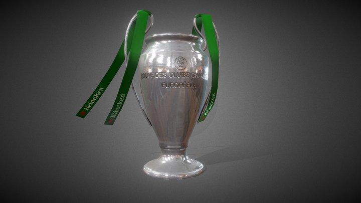Trophy Champions League - Heineken 3D Model