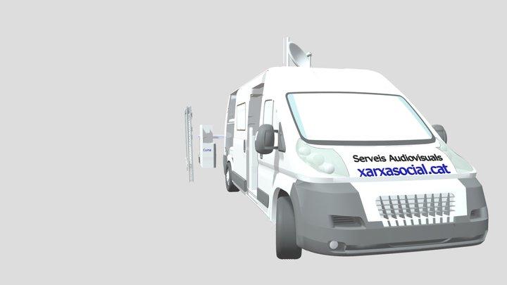 furgo Snou versio 3D Model