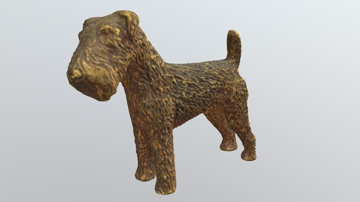 brass paperweight - ww2 blitz rescue 3D Model