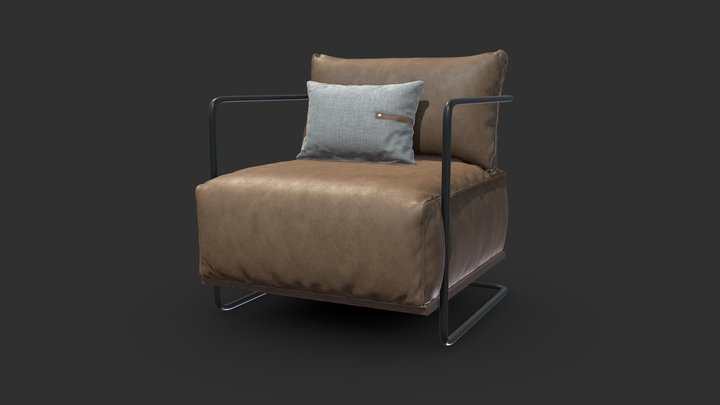 Colin Chair 3D Model
