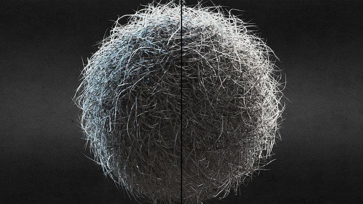 Hairball 3D Model