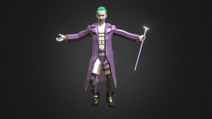 Joker (Jared Leto) 3D Model