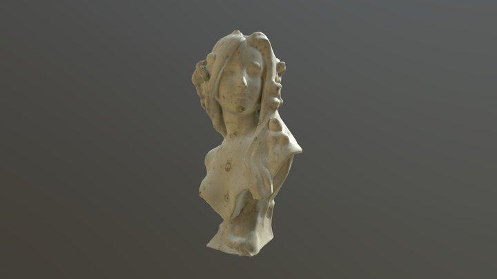 gypsum female model 3D Model