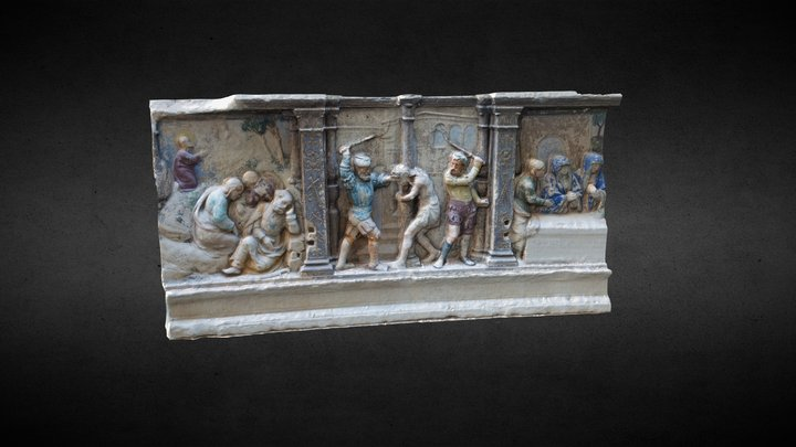 Part of Paixão de Cristo (Passion of Christ ) 3D Model