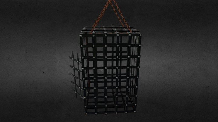 Cage for torture 3D Model