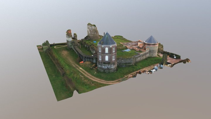Kasteel Montfort Annotation Test 3D Model