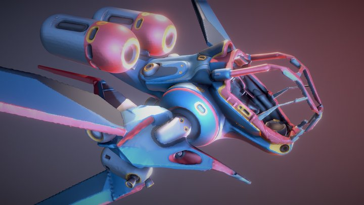 Dragonfly Craft 3D Model