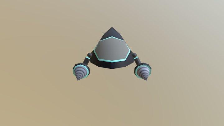 Purdue Tower Defense - Sci-Fi Fast Minion 3D Model
