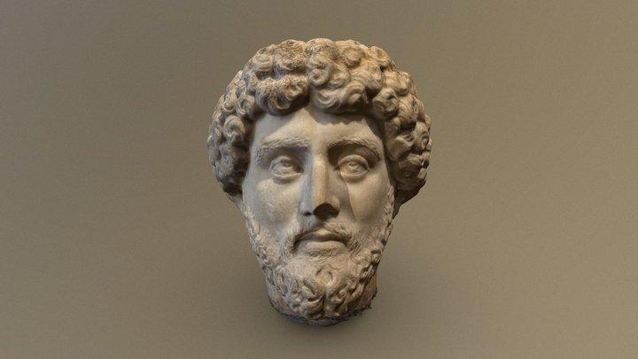 Bust of Marcus Aurelius 3D Model