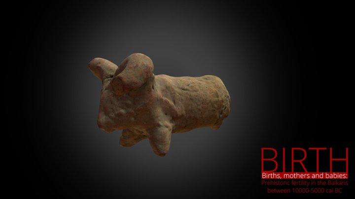 Bovine figurine 3D Model