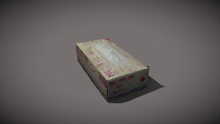 Scatola Guanti 3D Model
