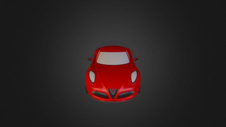 Alfa 4 C Blendswap 3D Model