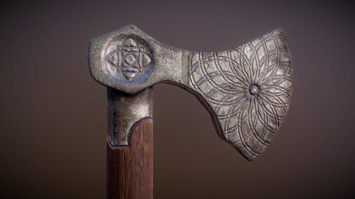 Nordic Small Axe 3D Model