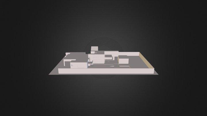 HOUSE BAQUEDANO-MARINEZ 3D Model