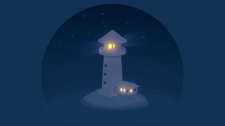 Light House Concept 3D Model