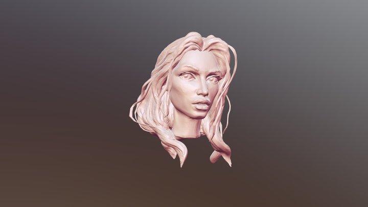 Buste1-skfab 3D Model