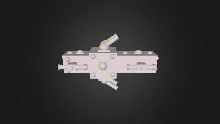 Ueas Frigate 3D Model