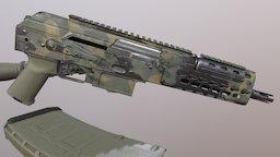 Krebs AK 3D Model