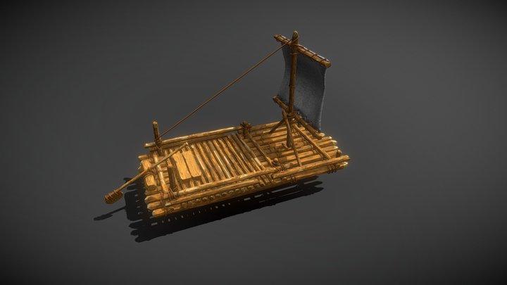 Argon Raft 3D Model