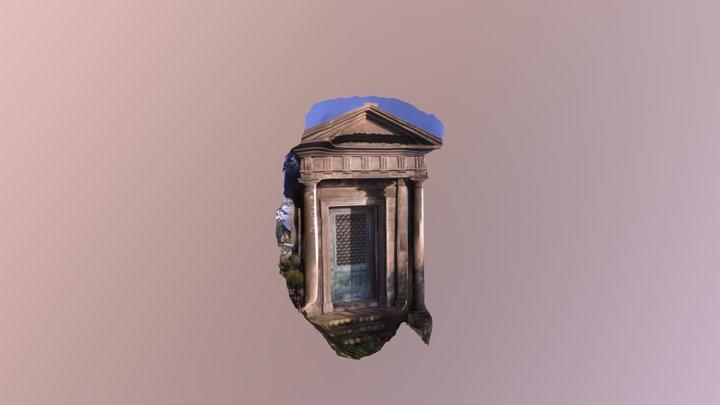 William DAWSON tomb Carron Co 3D Model
