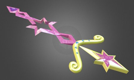Twilight Sparcle's Sword 3D Model