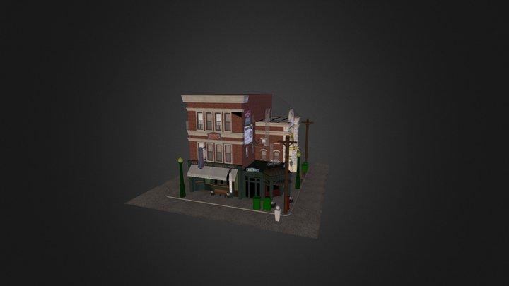 Universal_Studios_Buildings 3D Model
