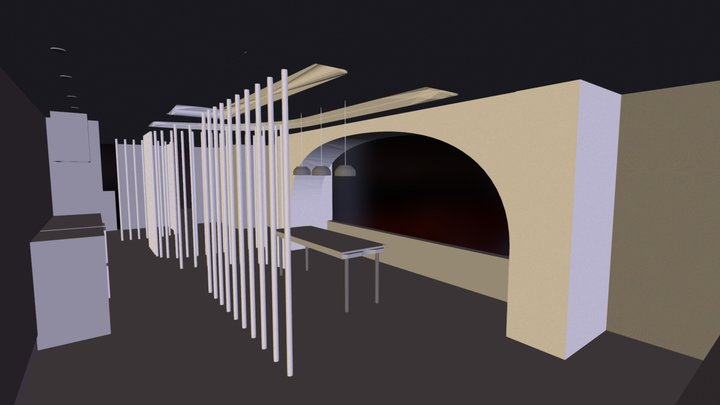 classical space 3D Model