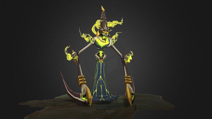 Nekralash - Infernals 3D Model